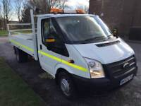 2014 Ford Transit 350 3.5T 2.2 125ps Dropside, Crane, Air Con, Parking Sensors