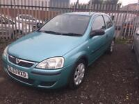 2004 Vauxhall/Opel Corsa 1.0 Petrol 1 Owner From New