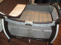 Visiting relatives over the holidays? This playpen is perfect