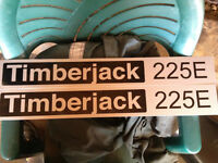 Timberjack Side Emblems