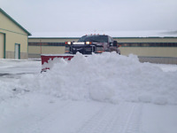 Fast snow removal services