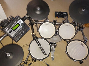 HART Professional Electronic Drum Kit wRoland brain and cymbals London Ontario image 2