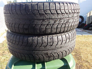 p215/60/16 inch Winter Tires / GOOD TREAD / GOOD DEAL