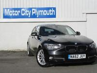2012/62 BMW 118D 1 Series Manual Diesel 5dr Saloon in Black