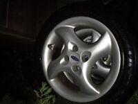 Ford alloy wheels 4x108 mint! Suit Zetec s
