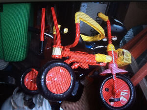 3 in one trike foldable $25