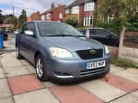TOYOTA COROLLA T3 1.4L Petrol-1 year MOT-Service History-very clean-Lady Owner-Low mileage