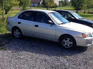 2002 Hyundai Accent only 84,000km's