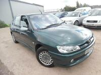 PEUGEOT 306 1.4 PETROL 5 DOOR HATCHBACK LOW MILES ONE OWNER