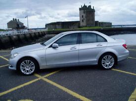 Mercedes-Benz C220 2.1CDI ( 170bhp ) Bluefficiency Elegance Edition 125 Auto