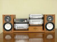 Technics system ST-HD55 amp,cd,tuner,cassette + speakers