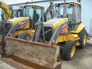 2007 VOLVO BL70 BACKHOE WITH eXTENT-A-HOE