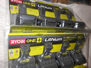 Ryobi One+ Lithium Battery
