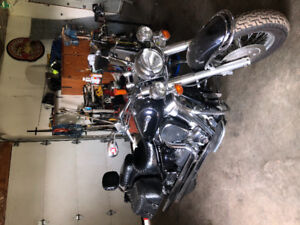 2002 Roadstar Motorcycle