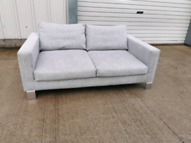 Dwell grey 2 seater sofa, couch, suite 🚚