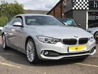 2014 BMW 4 Series 2.0 420i Luxury xDrive 2dr Petrol silver Manual