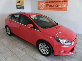 2012 Ford Focus 1.6TDCi ( 115ps ) Titanium ***BUY FOR ONLY £48 PER WEEK***