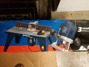 Router and Table set, un-opened Kitchener / Waterloo Kitchener Area image 1