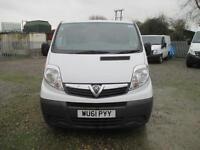 2011 Vauxhall Vivaro 2.0CDTi 115ps EU IV 2011MY 2700 SWB 1 owner diesel sld pas