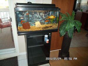 aquarium 25 gall.