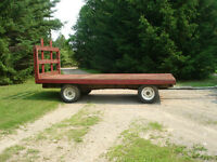 Hay wagon for sale