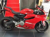DUCATI 899 PANIGALE RED. 2 OWNER IMMACUALTE EXAMPLE WITH ONLY 1800 MILES !!