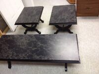 Coffee table set in great shape