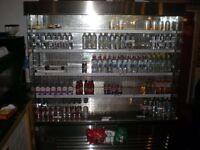 2 meter wide display fridge rrp £2600.00