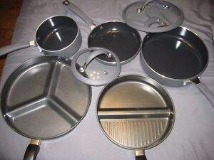 All Pots and Pans in Picture sold together only Windsor Region Ontario image 1