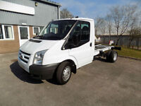 FORD TRANSIT 350 MWB TWIN WHEEL 115 BHP 6 SPEED CHASSIS CAB 2008 08