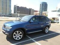 2006 BMW X5 3.0 d BluePerformance Le Mans Blue Sport 5dr