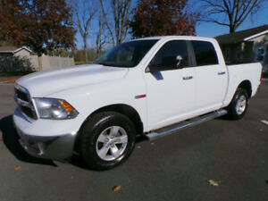 2014 DODGE RAM 1500 ECODIESEL SLT, 4X4, FULL CREW CAB, ONE OWNER