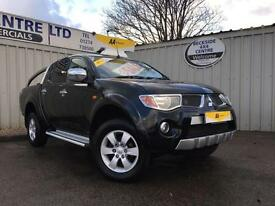 Mitsubishi L200 2.5DI-D 4WD Double Cab Pickup auto Animal 4X4 NO VAT