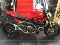 DUCATI MONSTER 1200 S EX DEMONSTRATOR 6 MONTHS OLD ONLY 2100 MILES