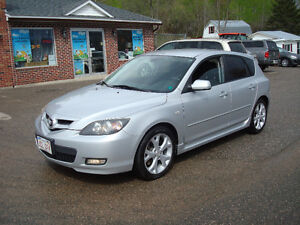 2008 Mazda 3 GT Hatchback - 2.3L 4cyl Auto - Loaded!