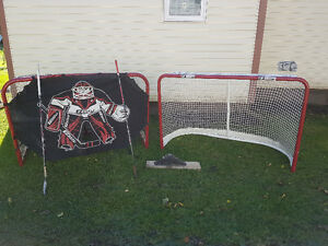 2 Hockey net package for sale