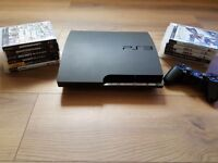 PS3 500GB with 12 Games