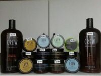 American Crew Hair Products   $17.99 each