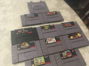 Games for the SNES