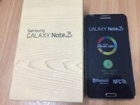samsung galaxy note 3 n9000 UK model factory unlocked refurb new with box chrger £190