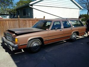 1983 Ford Crown Victoria LTD Country Squire Station Wagon