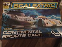 Scalextric's Continental sports cars 1:32 scale