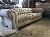 Brand New 3.5 seater Chesterfield Sofa- FREE local delivery!