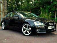 2008 Audi A5 3.0 TDI Quattro Sport 2dr Tip Auto , 1 owner from new, F.M.D.S.H CO