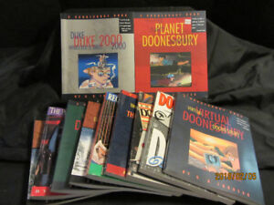 DOONESBURY 63 BOOK COLLECTION BY G.B.TRUDEAU