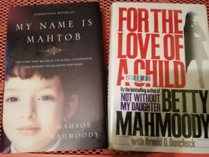 My name is Mahtob and For the Love of a Child