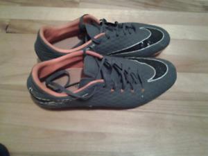 Nike Hypervenom NikeSkin-souliers de soccer NEGOCIABLE