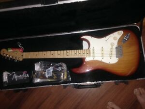 Beautiful American Standard Stratocaster in Sienna