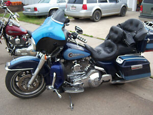 LOWERED 2001 HARLEY CLASSIC