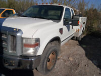 2008 Ford F-350 Super Duty XLT Diesel Service Truck For Sale Calgary Alberta Preview